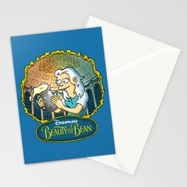 Disenchantment vs Beauty and the Beast Stationery Cards