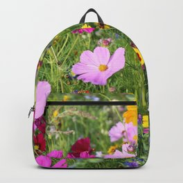 Meadow,wild flowers  Backpack