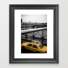 Brooklyn Bridge #2 Framed Art Print