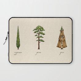 Fur Tree Laptop Sleeve