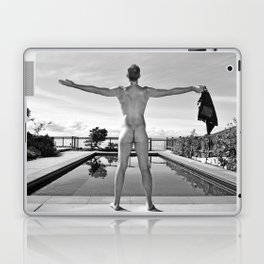 Freedom Man Nude Laptop & iPad Skin