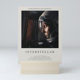 Interstellar (2014) Minimalist Poster Mini Art Print