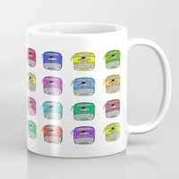 write Mugs featuring Write on by andy_panda_