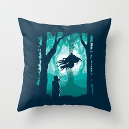 Return Of The Soulless Throw Pillow
