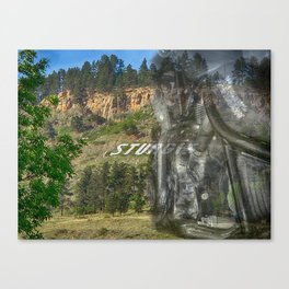 Motorcycle Mecca Canvas Print