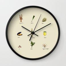 Summer kitchen Wall Clock