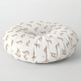 Sand Cheetah Floor Pillow