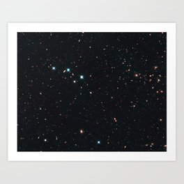 Hubble Space Telescope - The CANDELS Ultra Deep Survey (UDS) Art Print