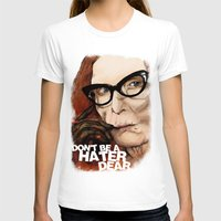 coven T-shirts featuring Myrtle Snow || Don't be a hater, dear (from American Horror Story: Coven) by PandaToyz
