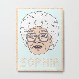 Sophia Portrait Metal Print