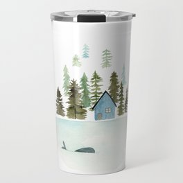 I see a whale! Travel Mug