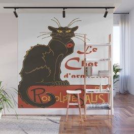 Tournee du Chat Noir D'Armistice Tribute Vector Wall Mural