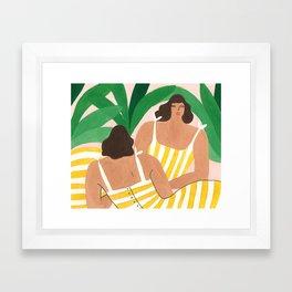 Gemini - For Marie Claire France January 2018 Framed Art Print