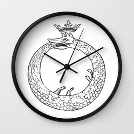 Ouroborous Wall Clock