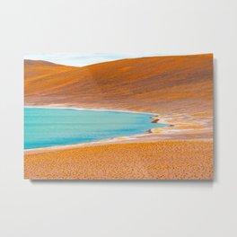 Lagunas Altiplánicas, San Pedro de Atacama, Chile Metal Print