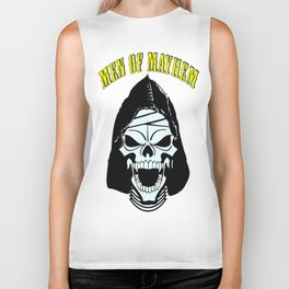 Men of Mayhem Zombie Skull Biker Tank