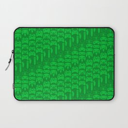 Video Game Controllers - Green Laptop Sleeve