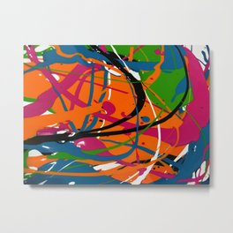 Wet Paint no. 04 Metal Print