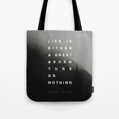 Adventure or Nothing Tote Bag