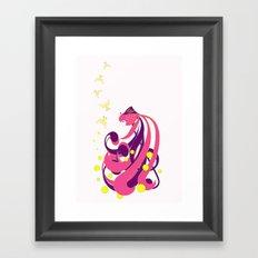Musical Fish Framed Art Print