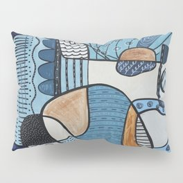 Scratched Below the Surface Pillow Sham