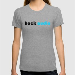 Hack Audio Black Logo T-shirt