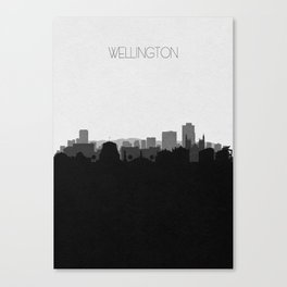 City Skylines: Wellington Canvas Print