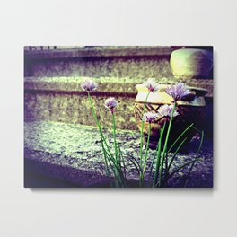 Chive Talkin' Metal Print