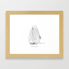 THE GREY GHOST Framed Art Print