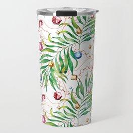 Glamorous Palm white Travel Mug