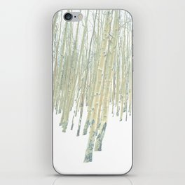 Aspen in the Snow - Vail, Colorado iPhone Skin