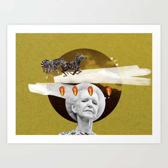 older dreams Art Print