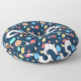 Moana inspired pattern Floor Pillow