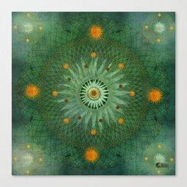 """""""Celestial Vault Mandala"""" Canvas Print"""