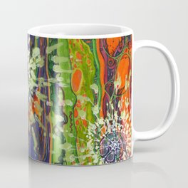 Induced Cosmic Revelations (Four Dreams, In Mutating Cycle) Coffee Mug