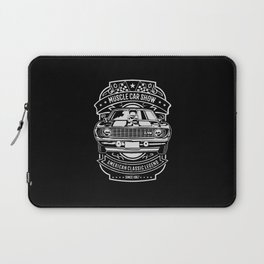 muscle car show american classic legend Laptop Sleeve