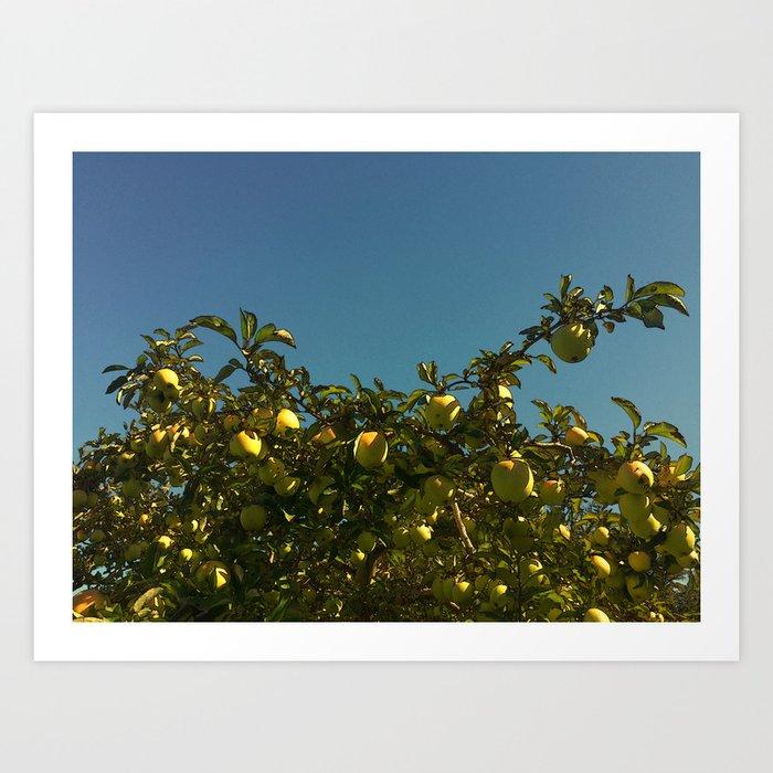 Don't Sit Under the Apple Tree Art Print