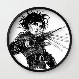 Edward Scissor Hands Wall Clock