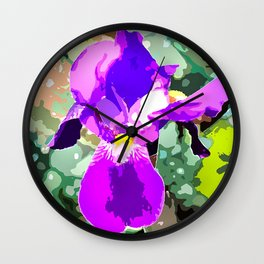 Lilie in Art  Wall Clock