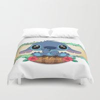 aloha Duvet Covers featuring Aloha... by Emiliano Morciano (Ateyo)