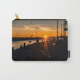 Harbor impressions in January Carry-All Pouch
