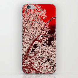 Surreal Red Harmony iPhone Skin