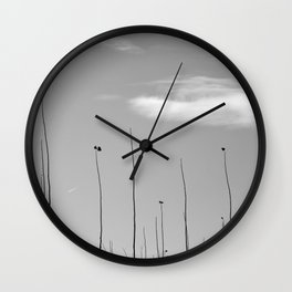 Young Poplars. Looking for the sun... I Wall Clock