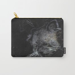 Abstract Red Panda Carry-All Pouch