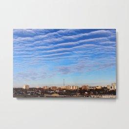 Blue Sky Toronto Metal Print