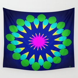 Symmetric composition 28 Wall Tapestry