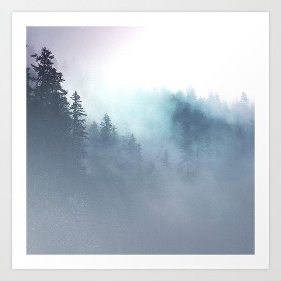 Faded Echos Art Print