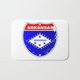 Arkansas Interstate Sign Bath Mat