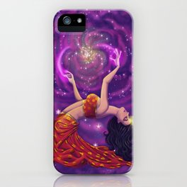 Lemurian Goddess of Love iPhone Case