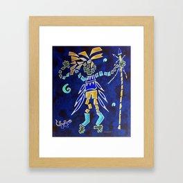 Indian Dance Framed Art Print